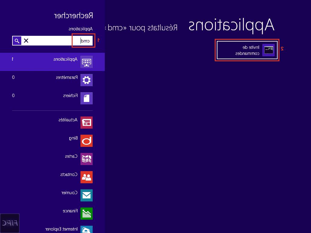 Comment réinitialiser windows 8